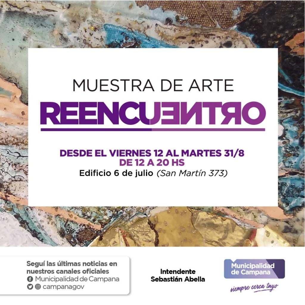 "Se inauguró la muestra de arte ""Reencuentro"""