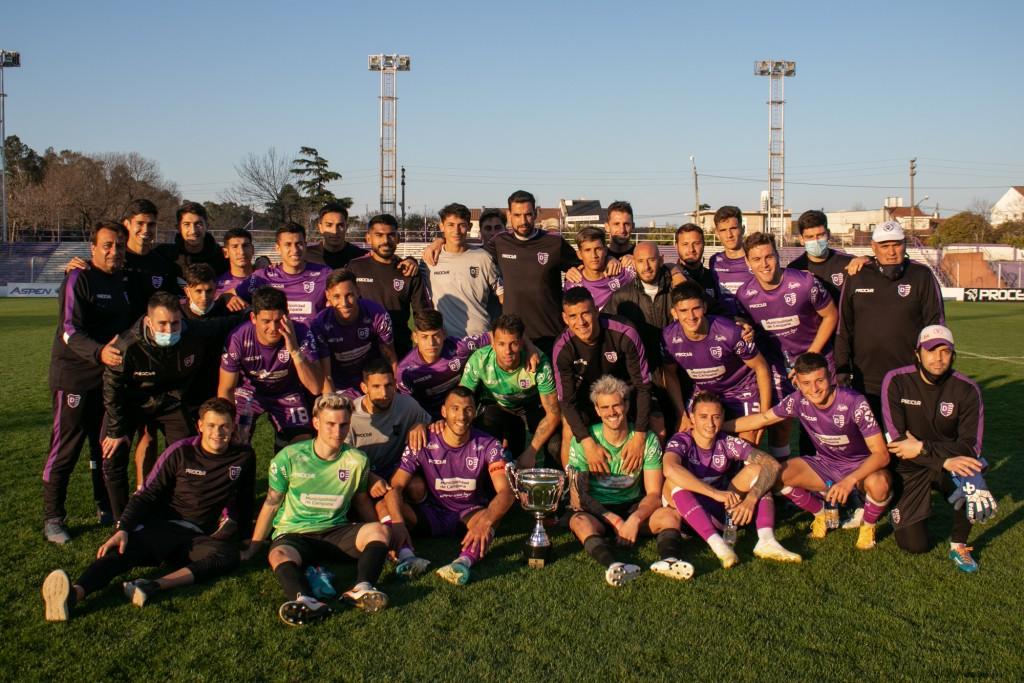 Villa Dálmine y Puerto Nuevo jugaron la Copa Ciudad de Campana