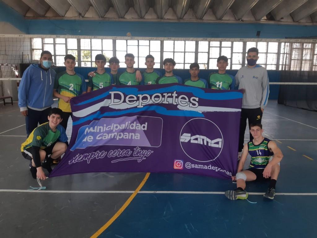 Equipos de vóley avanzan en los Juegos Bonaerenses