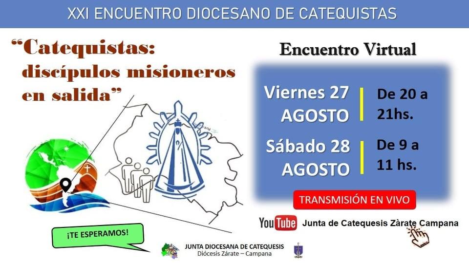 ¡Dos en Dos! : Día del Catequista
