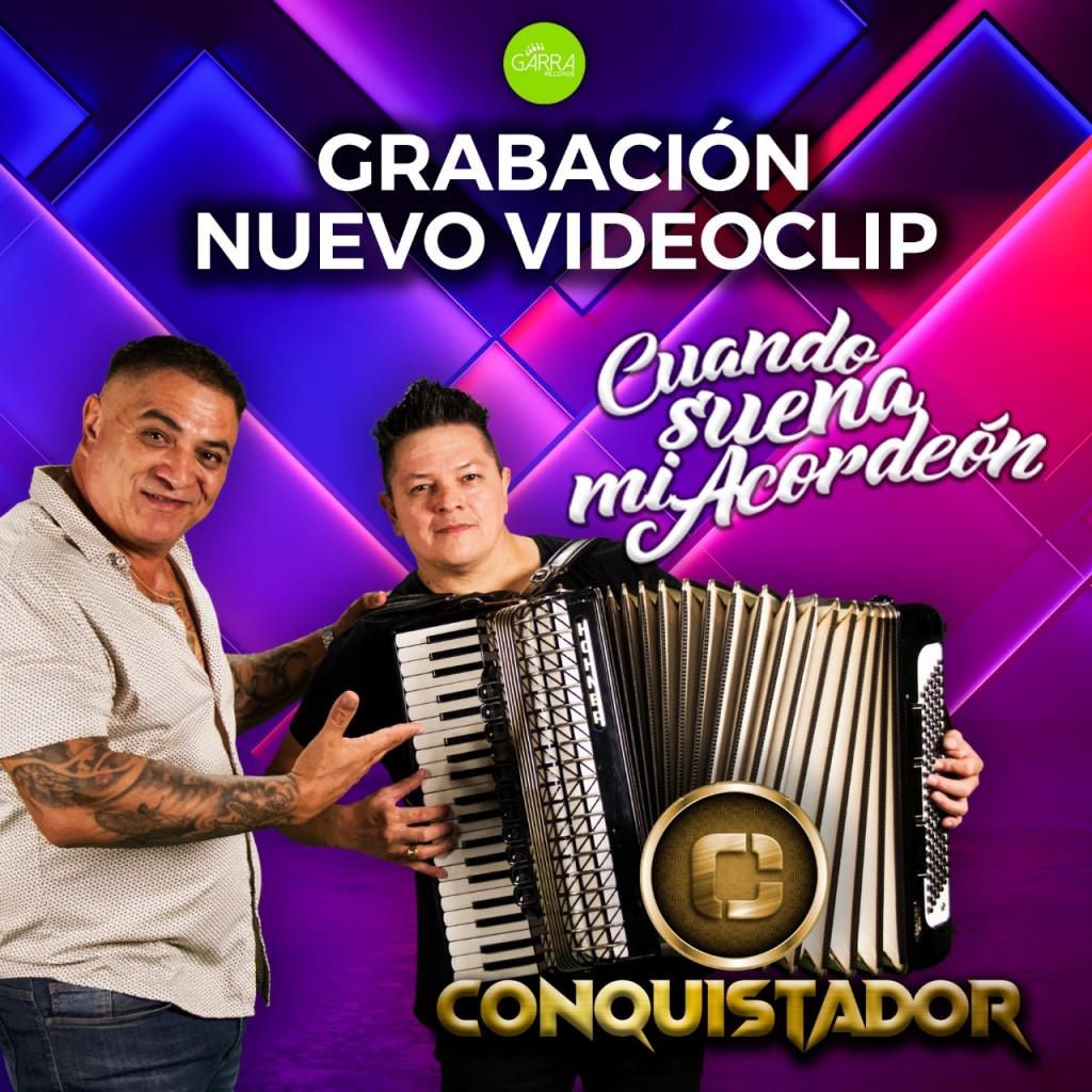 El Grupo Conquistador invita a los vecinos a ser parte de su nuevo videoclip