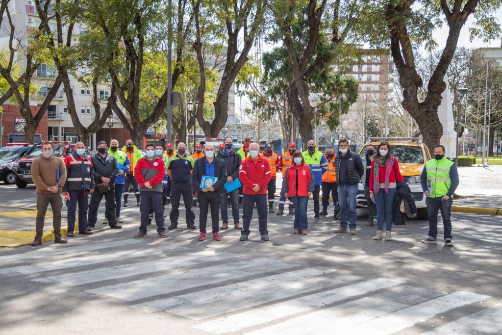 CAMPANA CONDUCIRÁ LA ZONA 8 DE DEFENSA CIVIL