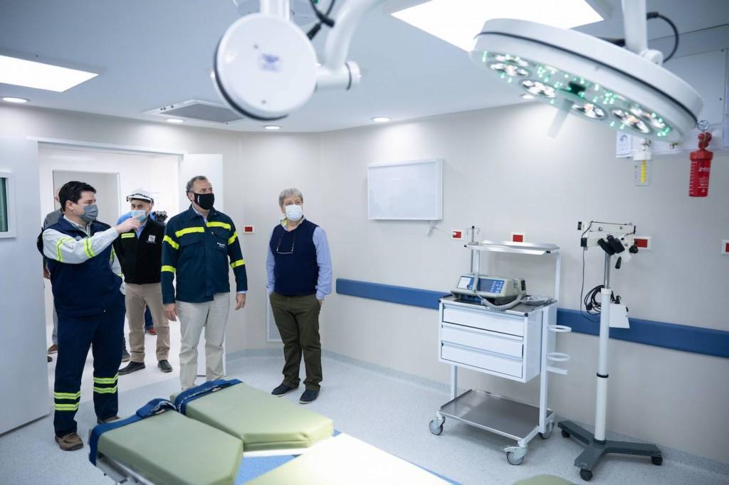 Se inauguró el nuevo piso de quirófanos del Sanatorio Augusto T. Vandor de Campana con aportes de Tenaris y la Fundación Hermanos Agustín y Enrique Rocca