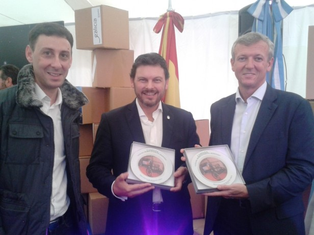 "Campana participó del evento ""Buenos Aires celebra Galicia"""