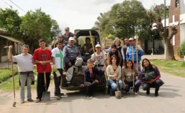 Gabinete Social Municipal: Exitosa Jornada de Limpieza junto a los vecinos en el Barrio Dallera