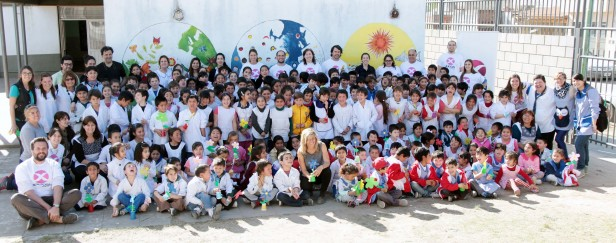 AXION energy se prepara para recibir la primavera junto con la Escuela Primaria N°29