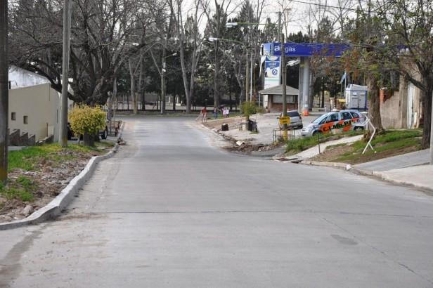 La Municipalidad pavimentó el Pasaje Arenales