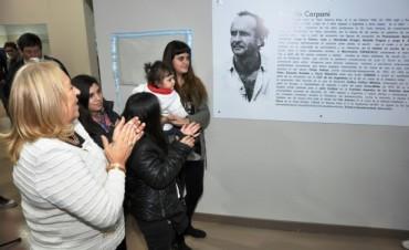 """La Escuela de Arte de Campana lleva el nombre de """"Ricardo Carpani"""""""