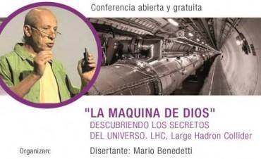 El científico Dr. Mario Benedetti disertará sobre descubrimientos científicos