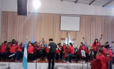 La Orquesta Escuela de Campana realizó diversos Conciertos en el mes de su 5° Aniversario