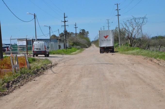 El Municipio reparó el camino San Sebastián