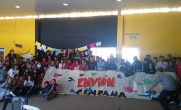 """Se realizó un """"encuentro envionero"""" por el Día Internacional de la Juventud"""