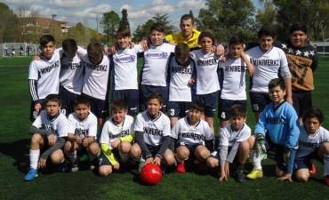 Los chicos de Santa Florentina ganaron el Torneo de Fútbol del Club Ciudad