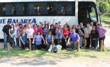 Adultos mayores disfrutaron de una visita a San Pedro