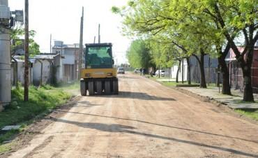 El Municipio ya asfalta las últimas calles de tierra en Don Francisco