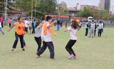 Unos 400 alumnos participaron de un Torneo Intercolegial de Handball