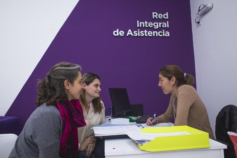 """Integrantes de """"Ellas hacen"""" participaron de talleres de sensibilización en violencia de género"""