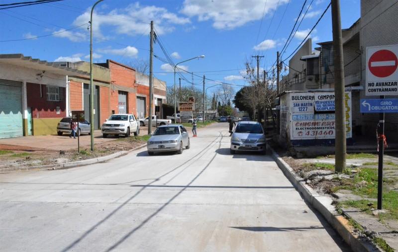 Reabren el tránsito en la calle Andrés Del Pino