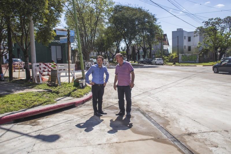 Concluyeron los trabajos en boulevard Sarmiento entre Becerra y Castilla