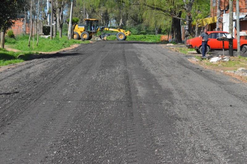 El Municipio inició un importante plan de mejoramiento integral en Las Acacias