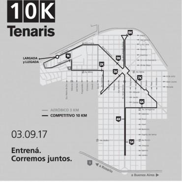 El domingo se corren los 10K Tenaris en Campana