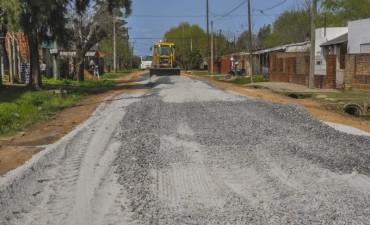 El Municipio puso en marcha un plan de mantenimiento de las calles de San Cayetano