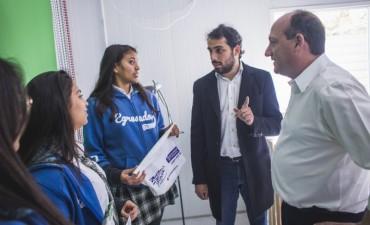 Seguimos apostando a potenciar el desarrollo de los jóvenes de Campana, afirmó Roses