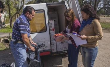 Por diversas irregularidades, el Municipio decomisó la mercadería de una camioneta
