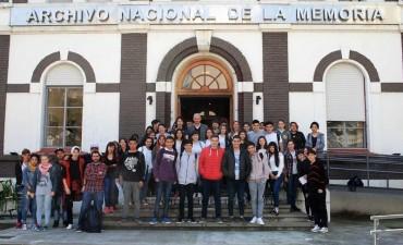 Estudiantes de la ciudad visitaron el predio de la ex ESMA