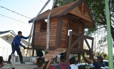 La Agrupación Julio Armando Melo realizó una donación al Hogar del Niño Ntra. Sra. De Lourdes.