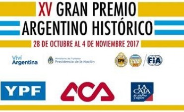 XV GRAN PREMIO ARGENTINO HISTÓRICO SORTEO DEL ORDEN DE NUMERICO