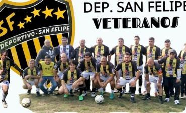 Este domingo se disputará la final de la Liga de Veteranos de Fútbol
