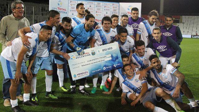 Atlètico Tucumàn venció a Independiente y lo sacó de Copa Argentina