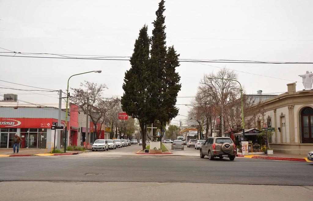 Reabren el tránsito en la intersección de Varela y 9 de Julio