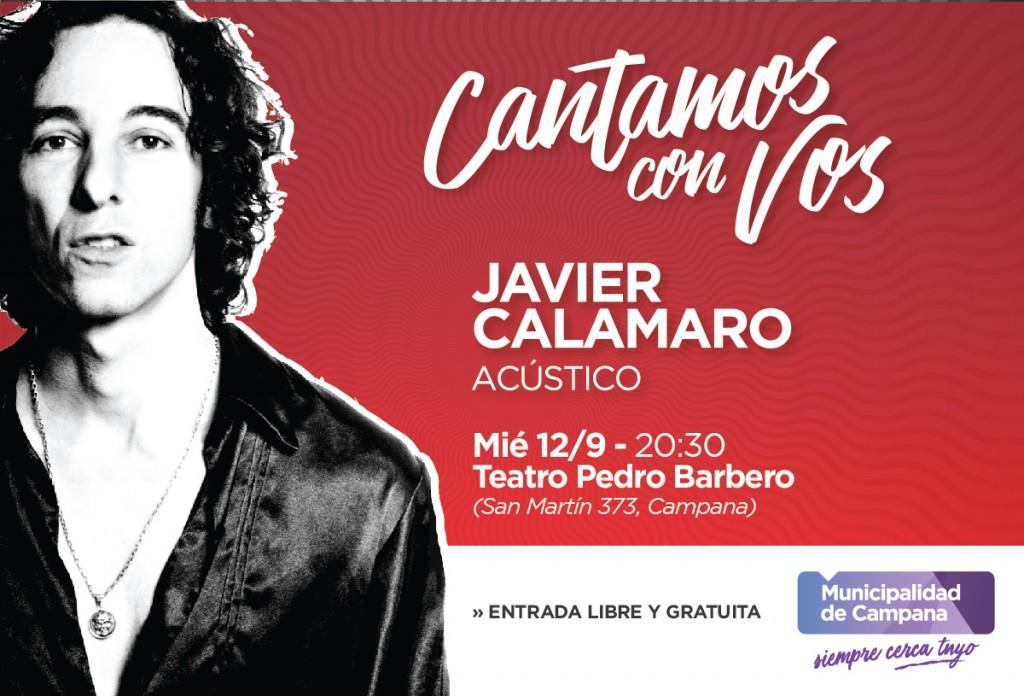 Javier Calamaro llega al Teatro Municipal Pedro Barbero