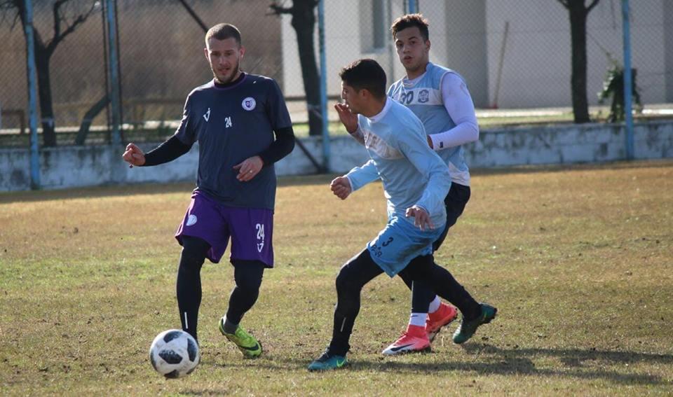 Nicolás Sansotre se refirió al próximo partido de Villa Dálmine