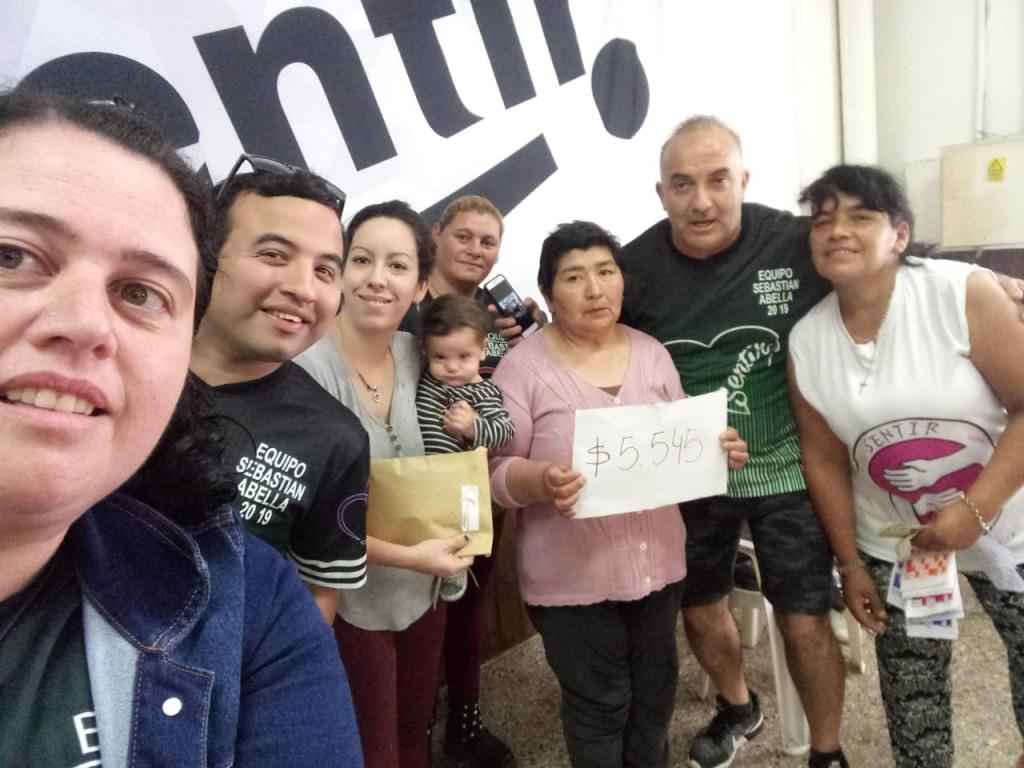 """La agrupación """"Sentir"""" se unió nuevamente por una causa solidaria"""