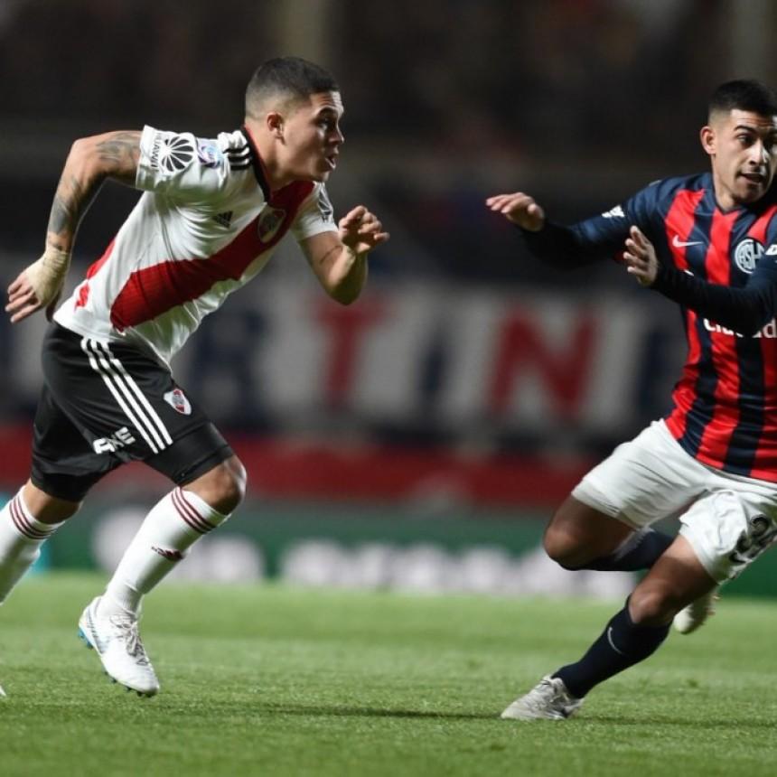 San Lorenzo de Almagro y River Plate empataron 1 a 1