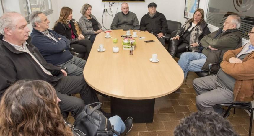 El Municipio acompañó una jornada del Astillero Alnavi