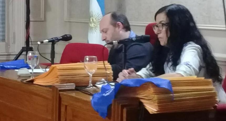 Se realiza la sesión del Honorable Concejo Deliberante