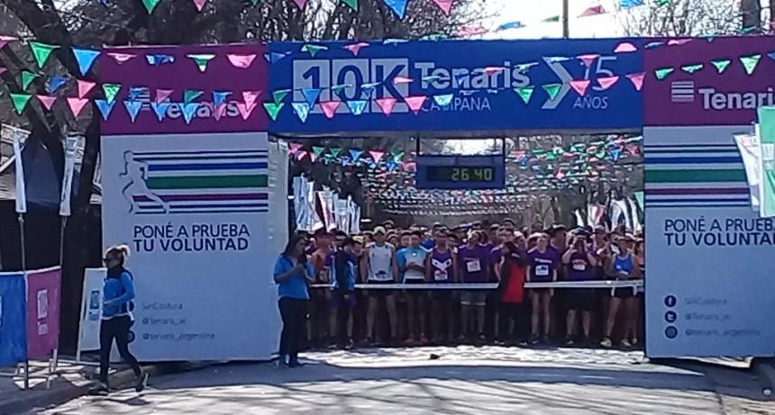 Se realizó la maratón 10K Tenaris