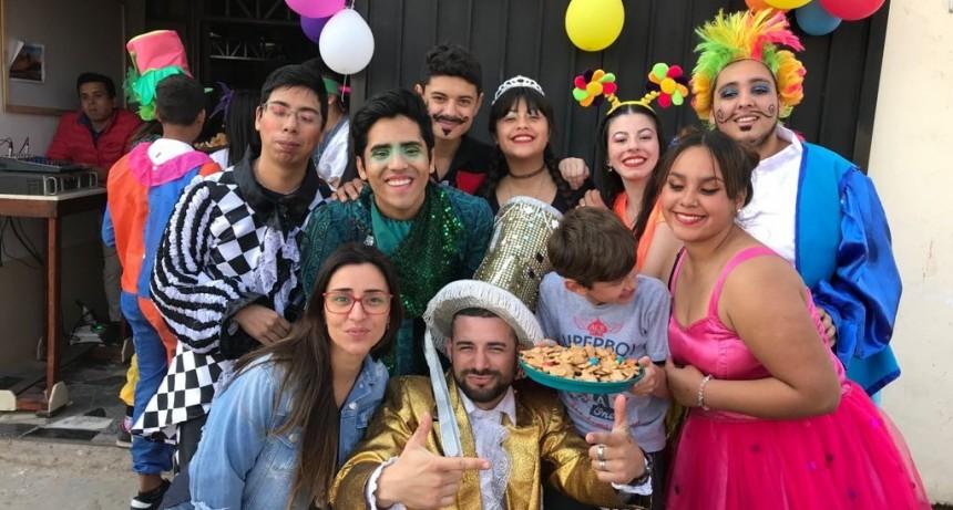 La concejal Casaretto compartió una divertida tarde con chicos de San Felipe
