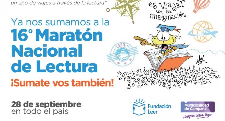 El Centro Educativo Municipal se suma a la 16° Maratón Nacional de Lectura