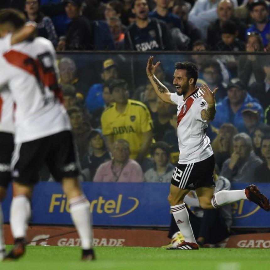 River Plate le ganó el Superclásico a Boca Juniors por 2 a 0