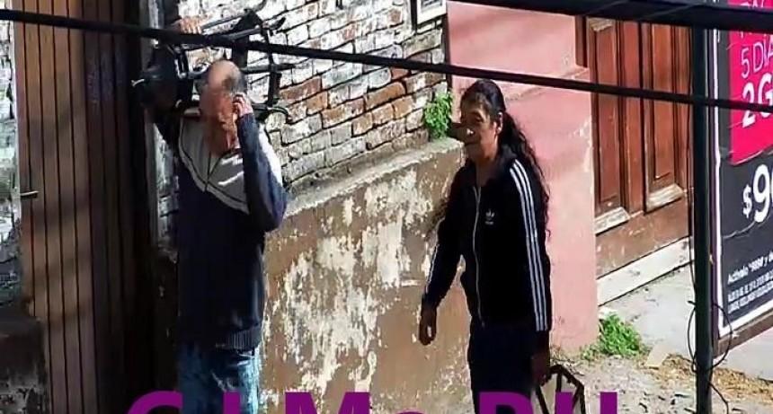Detienen a dos personas captadas por las cámaras cuando robaban un farol de la plaza Eduardo Costa