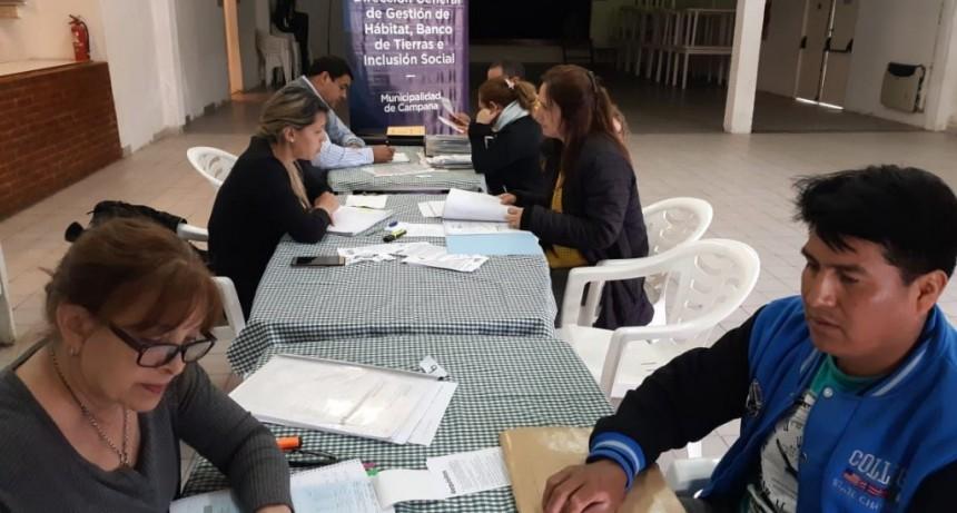 Vecinos de Río Luján se asesoraron sobre trámites gratuitos de escrituración