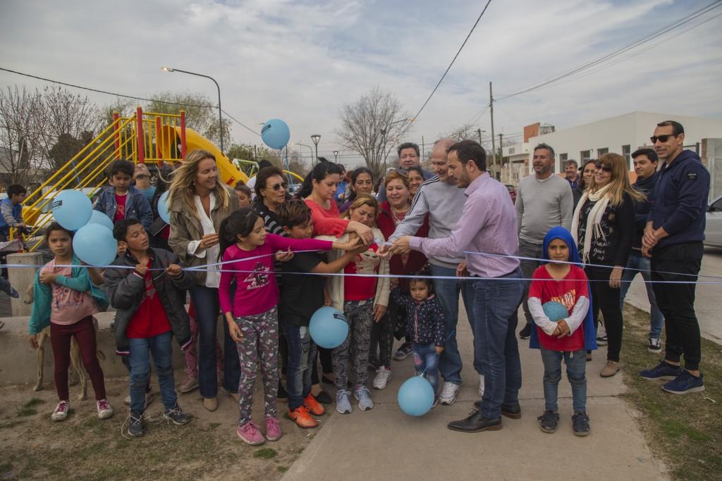 Abella y Klemensiewicz inauguraron las obras en San Felipe