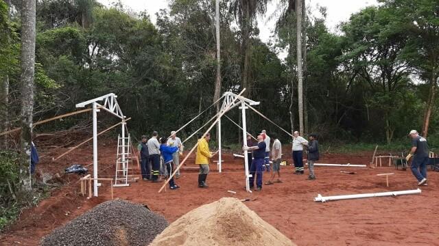 Pan del Alma construye una nueva Escuela Rancho en San Ignacio Misiones