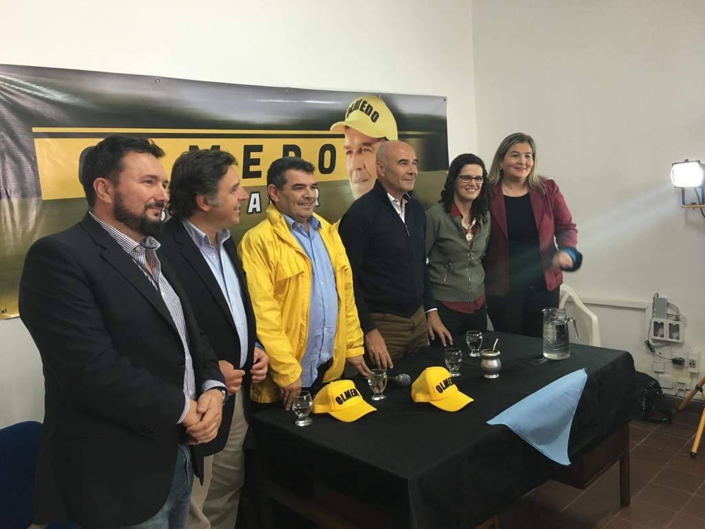 Gómez Centurión estuvo en Salta junto a Olmedo y Suriani