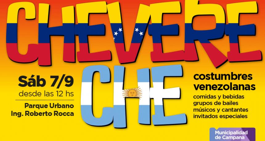 Se realizará la 1° Feria Chevere Che en Campana